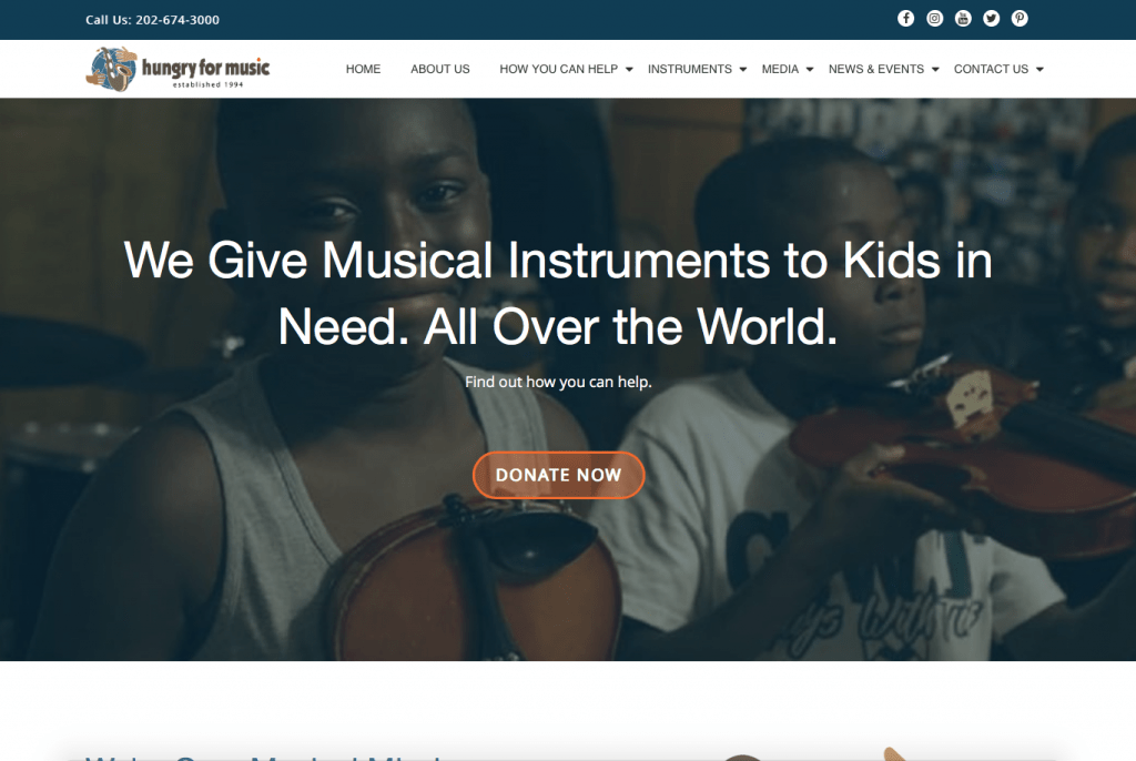 Hungry for Music ~ hungryformusic.org