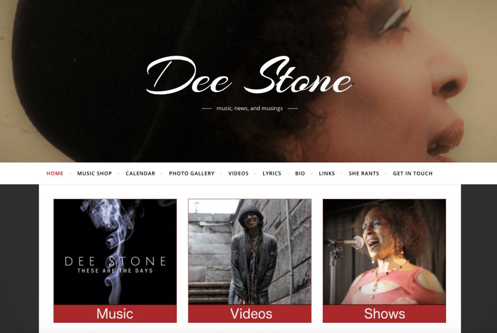 Dee Stone - deestonemusic.com