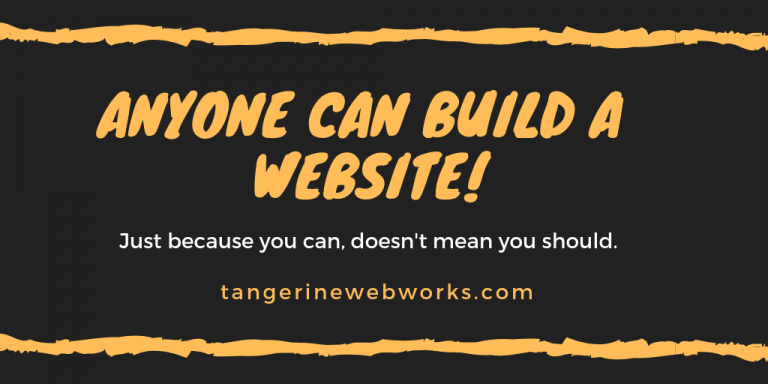Anyone Can Build a Website!